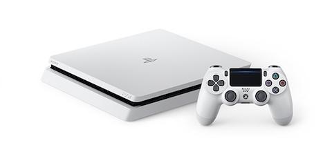 ソニーは新型プレイステーション4(PS4)の新色「グレイシャー・ホワイト」を発売