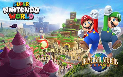 ユニバーサル・スタジオ・ジャパン(USJ)は任天堂の世界観をテーマにした「SUPER NINTENDO WORLD」を発表