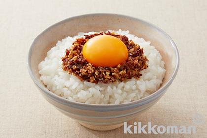 キッコーマン「卵かけごはん(サクサクしょうゆ使用)」