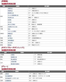 ビックカメラで8月13日に実施する「Nintendo Switch」の抽選販売の店舗リスト