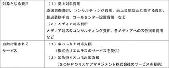 損保ジャパンは企業向け商品「ネット炎上対策費用保険」の販売を開始
