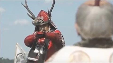 NHK大河ドラマ「真田丸」の最終話にて真田信繁と徳川家康が対峙