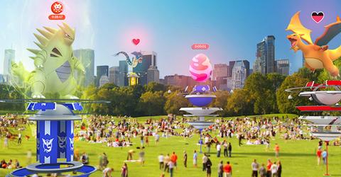 ポケモンGOは他のトレーナーと強力なポケモンに立ち向かう「レイドバトル」など大規模アップデートを実施