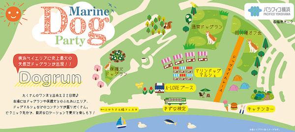 横浜ベイエリアに史上最大の天然芝ドッグランが出現