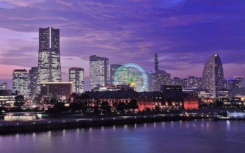 横浜市「みなとみらい21」地区