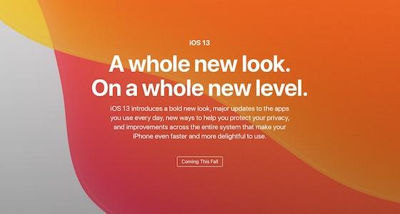 アップル「iOS13 Preview」