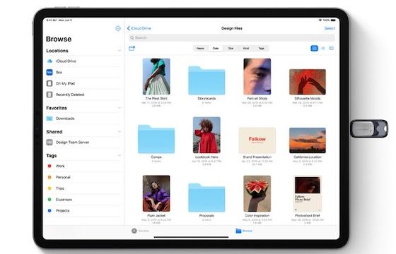 アップル「iPadOS Preview」