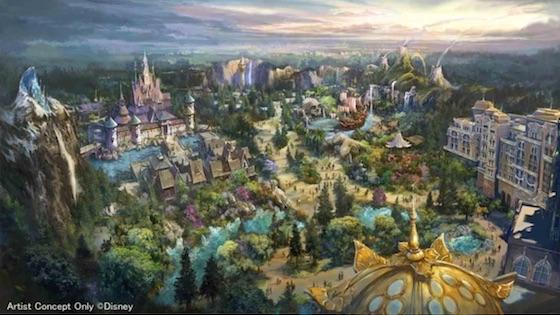 オリエンタルランドは新たに3つのエリアを開発する「東京ディズニーシー大規模拡張プロジェクト」を発表
