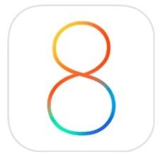 iOS8ロゴ