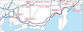 新東名高速道路の建設計画