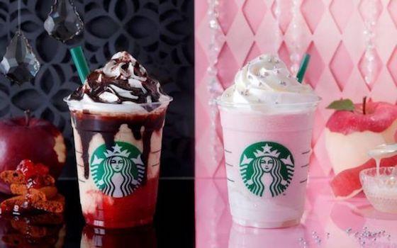 スターバックスコーヒーは魔女と姫のフラペチーノ「ハロウィンウィッチ フラペチーノ」と「ハロウィンプリンセス フラペチーノ」を発売