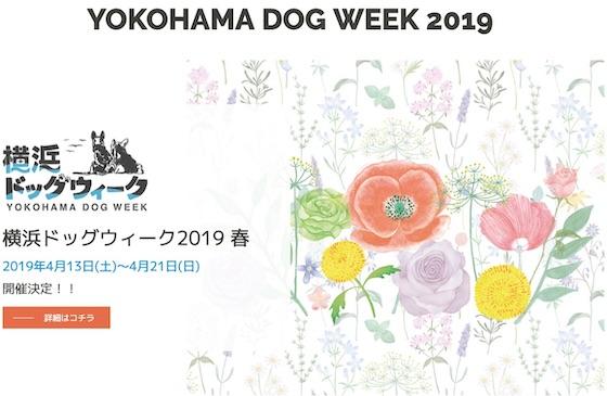 横浜ベイエリアを舞台にしたドッグイベント「横浜ドッグウィーク2019」にてMarine Dog Partyを開催
